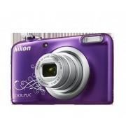 Nikon Camara Coolpix A10 Violeta Arte+funda