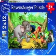 PUZZLE CARTEA JUNGLEI 2x12 PIESE Ravensburger