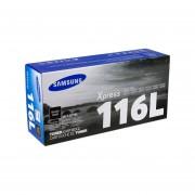 Cartucho de Tóner Samsung 116L Negro, Modelo, MLT-D116L. SU833A