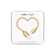 Happy Plugs Micro USB Charge/Sync Cable Rose Gold