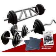 Megafitness Shop Guss - Mega Bizeps-Trizep-Set - 77 kg