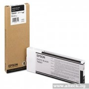 EPSON Photo Black Inkjet Cartridge for Stylus Pro 4800/ 4880, 220ml (C13T606100)