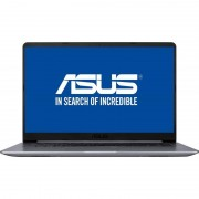 Laptop Asus VivoBook S15 S510UN-BQ175 15.6 inch FHD Intel Core i5-8250U 4GB DDR4 1TB HDD nVidia GeForce MX 150 2GB Endless OS Grey