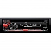 Autoestereo Jvc Kd-r470 Entrada Usb CD Compatible Con IPhone Android Y IPod-Negro