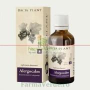 Alergocalm Tinctura 50 ml Remediu DaciaPlant