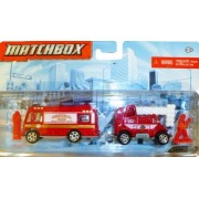 Matchbox Hitch N Haul Flame Tamers (WildFire Unit Mobile Command Center)