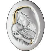 Strieborný obraz Madona s dieťaťom 05.5999.51OL
