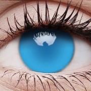 Crazylinser Electric Blue UV-Glow