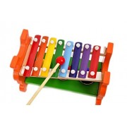 Baby Kids Wooden Educational Development Musical Toy Pound & Tap Bench Xylophone Piano Percussion Instruments