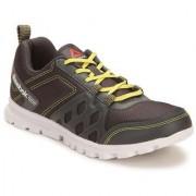 Reebok Mens Gray Green Sport Shoes