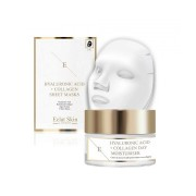 Eclat Skincare Hyaluronic Acid & Collagen Amino Acids Day Cream + Mask - 3 Sheets - Size: One Size