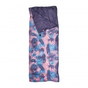 Xenos Slaapzak - roze/blauw/paars - 190x75 cm