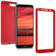 kwmobile Pouzdro pro Huawei Y6 (2018) - tmavě červená