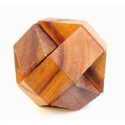 Puzzle din lemn Hexagon - Leonardo da Vinci