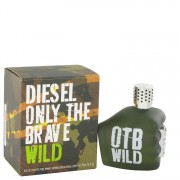 Diesel Only The Brave Wild Eau De Toilette Spray 2.5 oz / 74 mL Men's Fragrance 516928