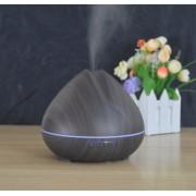 Virágbimbó aroma diffúzor, sötét fa-mintázatú 400 ml