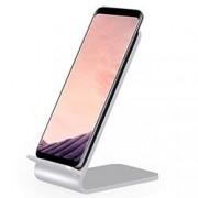 Techly Caricabatterie Wireless Fast Qi Stand Verticale 10W Lega di Alluminio