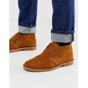 Jack & Jones suede desert boots in tan