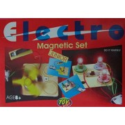 Electro Magnetic Set Junior Kit for Kids Science Experiments Basic Practical Miracles, Magnets, Electricity, Battery etc