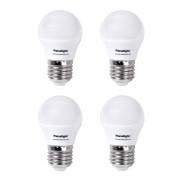 Panasonic Lâmpada LED Frost 4W E27 Luz Neutra Pack de 4