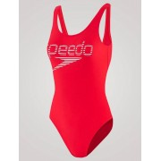 Speedo Logo Deep U-Back - Röd 34 UK / 38 EU / M