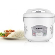 Borosil BRC28MPB23 Food Steamer, Rice Cooker(2.8 L, White)