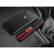 Elegáns multifunkciós telefontöltő Fekete-Piros