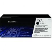 HP 12A Black Laser Jet Toner Cartridge