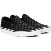 Vans Slip On Sneakers For Women(Black)