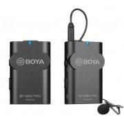Sistem wireless Boya BY-WM4 PRO-K1 cu Microfon lavaliera Transmitator si Receiver