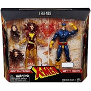 Marvel Legends X-Men Cyclops and Dark Phoenix Exclusive Action Figures, 6 Inches