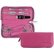 PFEILRING SOLINGEN 9359-8780 Luxus manikűr készlet Rózsaszín Made in Solingen