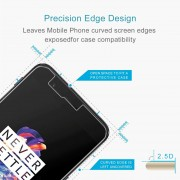 50 PCS OnePlus 5 0.3mm 9H Surface Hardness 2.5D Explosion-proof Non-full Screen Tempered Glass Screen Film No Retail Package
