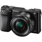 Sony ILCE-6000L (With SELP1650 Lens) 24.3 MP Mirrorless Camera(Black)