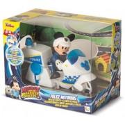 Mickey Mouse Roadster Racers Politist cu Motocicleta 182349