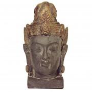 Grote Chinese vrouwelijke Buddha Dierenurn Kwan Yin (3 liter)