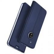 Motorola Fodral med kortplats för Motorola Moto G5 Plus - mörkblå