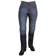 Roleff Dámské Jeansové Moto Kalhoty Roleff Aramid Lady Modrá 29/m