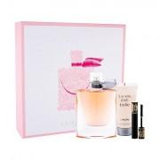 Lancôme La Vie Est Belle confezione regalo eau de parfum 100 ml + lozione corpo 50 ml + mascara Hypnose 01 Noir Hypnotic 2 ml donna