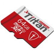 Tiitan 64 GB Micro SD Class-3U 300 MB/s
