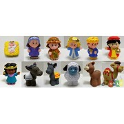 Fisher Price Little People Nativity Manger Replacement Figure Set