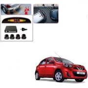 Auto Addict Car Black Reverse Parking Sensor With LED Display For Nissan Active