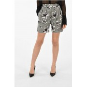 Neil Barrett Shorts in Misto Lana Vergine Stretch taglia 42