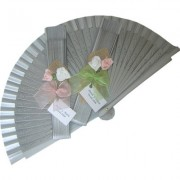 Silver Decorated Wedding Fan Spring