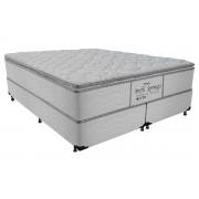 Colchão Probel Molas Pocket Perfil Springs Premium White - Colchão King Size - 1,93x2,03x0,32 - Sem Cama Box