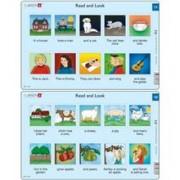 Set 10 Puzzle-Uri Read And Look 11 -20 (En), 10 Piese Larsen