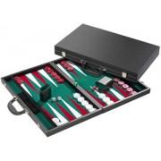 Backgammon Koffer - Toernooi Groen