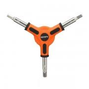Meco MTB Bike Bicycle Y Shape Hex Key Socket Wrench Spanner 4/5/6mm Repair Tool