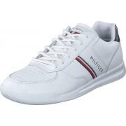 Tommy Hilfiger Lightweight Leather Mix Sneake White, Skor, Sneakers och Träningsskor, Sneakers, Vit, Herr, 42