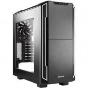 Carcasa BGW07, Silent Base 600 Window, MiddleTower, Fara Sursa, Negru/Argintiu